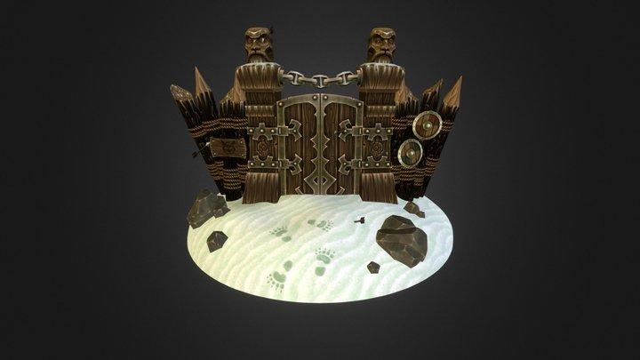 Dwarf Gate 3D Model