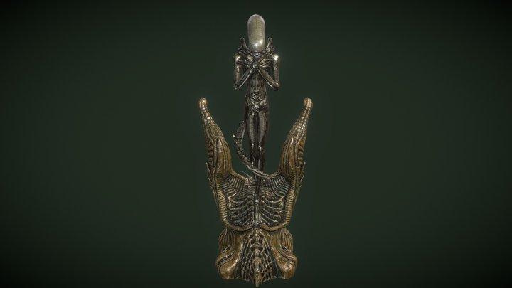 Alien Internecivus raptus 3D Model