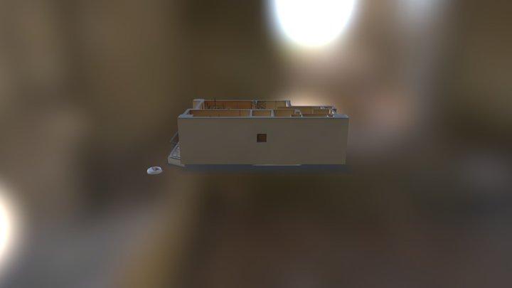 3d apartment room 3D Model