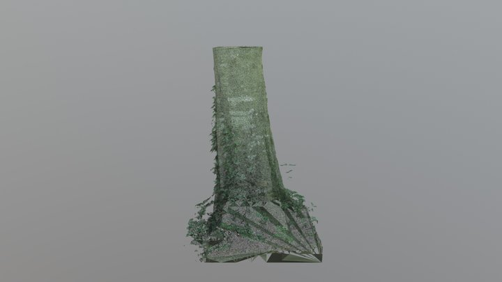 Tree Trunk Test 3D Model
