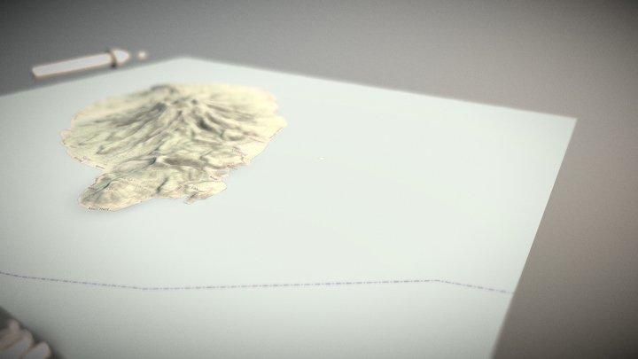 Philippines Camiguin Island 3D Model