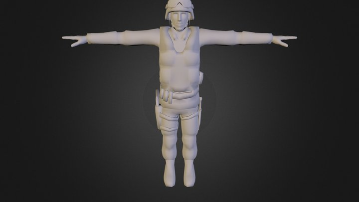 animated 3D Model