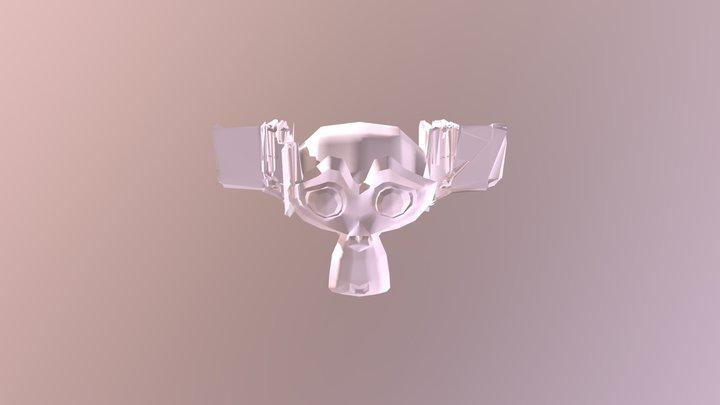 Monkey02 3D Model
