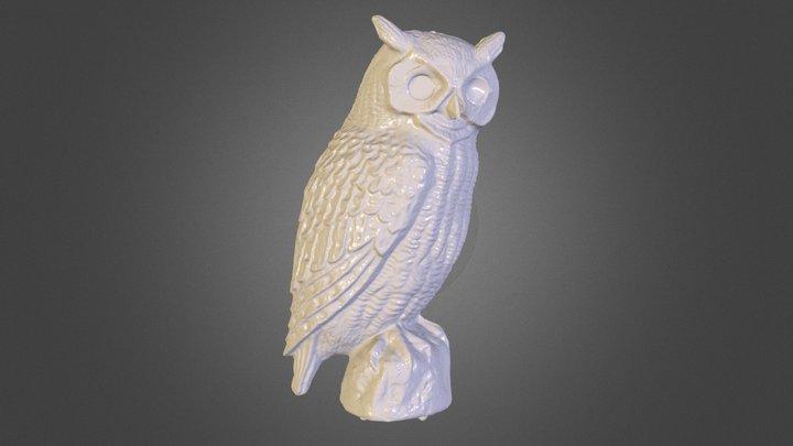 Plastic Owl 3D Model