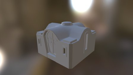"""The town hall, the chamber of Commerce"" 3D Model"