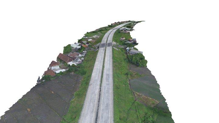 Tol Gempol Pandaan 3D Model