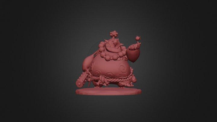 The good oni resin figure - sculpt 3D Model