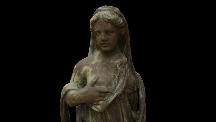 Lootus, Martna kirik 3D Model