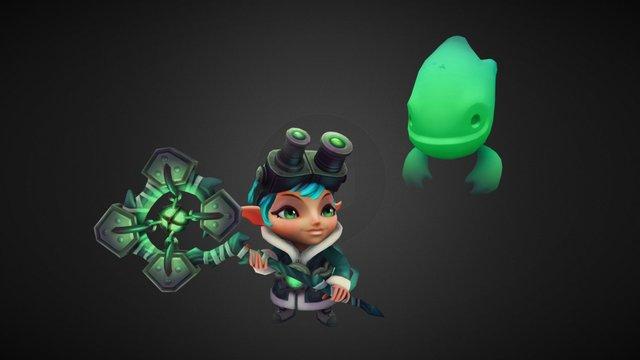 Ghost Hunter Lulu 3D Model