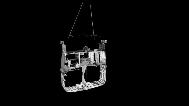 SS Robin - 3D Point Cloud (V,B) - Captain's Cab 3D Model