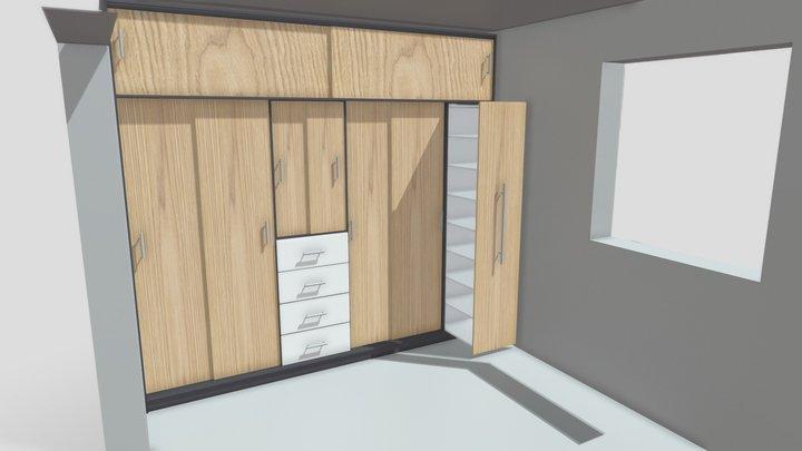 Closet 1 3D Model