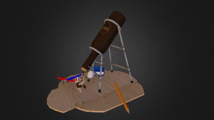 Bob the Keg 3D Model