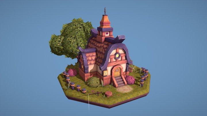 Fox House 🦊 3D Model