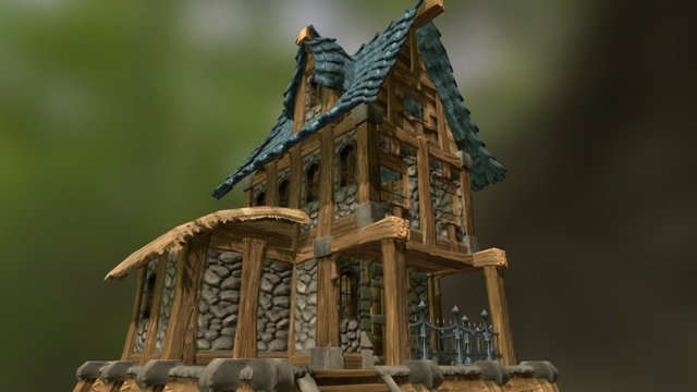 Profane - Pre-Alpha House 3D Model