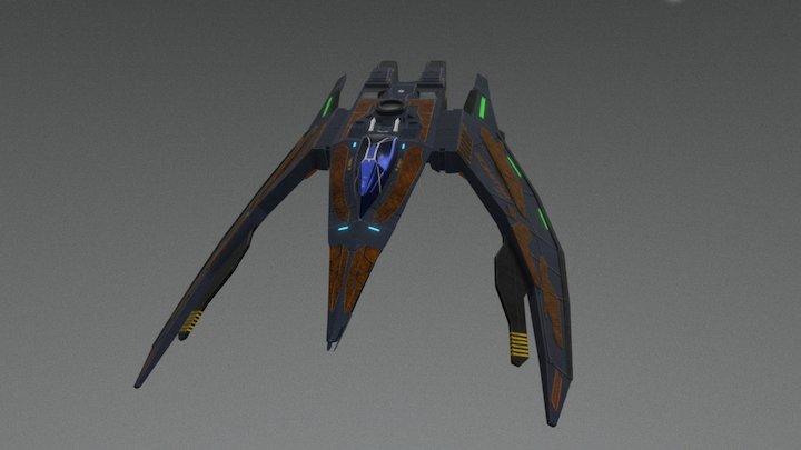 Scimitar Z-R35 3D Model
