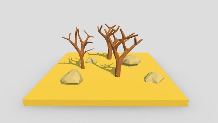 Enviroment 3D Model