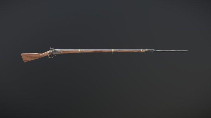 Musket An-Ix 3D Model
