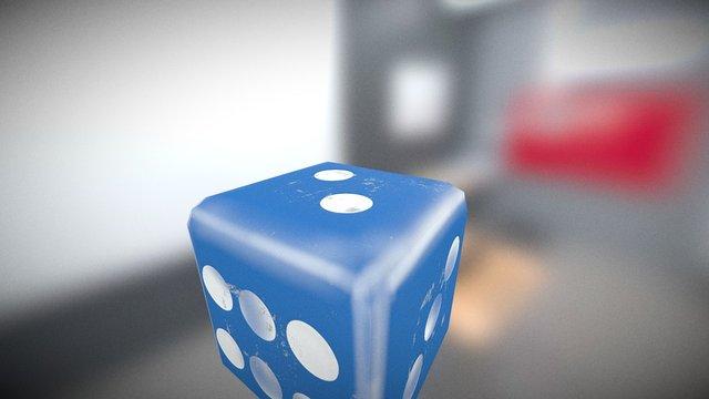 Die Blue 3D Model