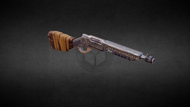 NK12 Pump Shotgun 3D Model