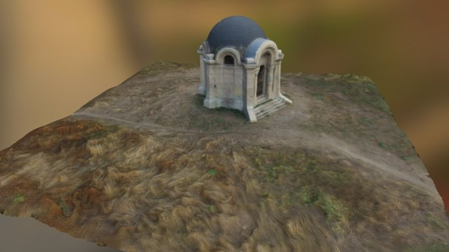 Mauzóleum, mausoleum 3D Model