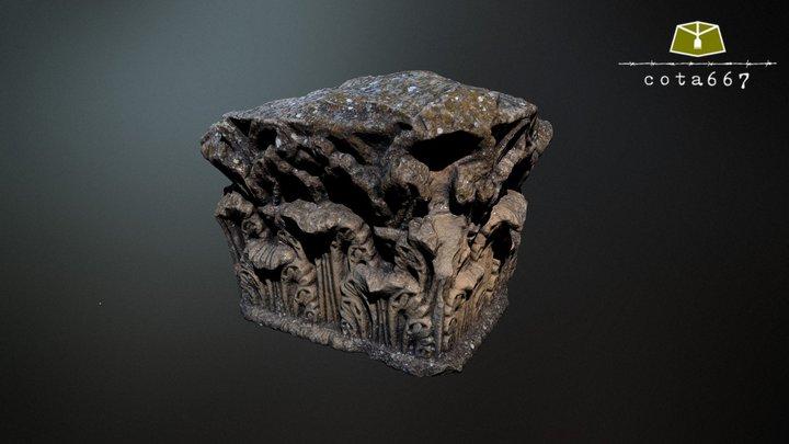 Capitel de Ercávica (Cañaveruelas, Cuenca) 3D Model