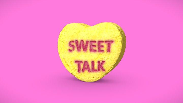 Heart Candy - Sweet Talk 3D Model