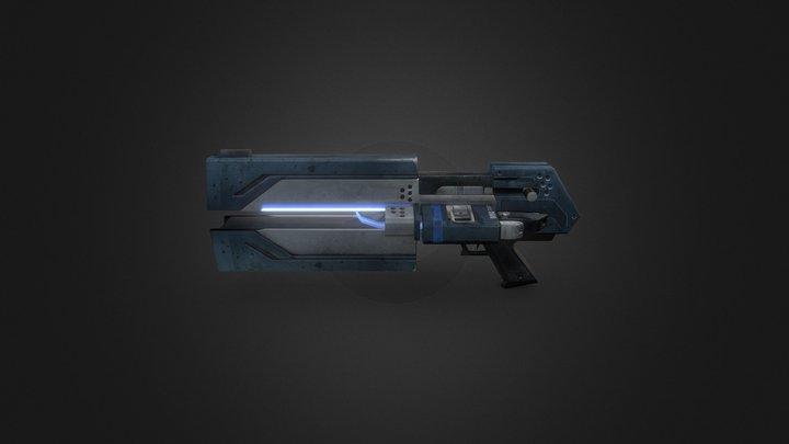 Tribes Vengeance Spinfusor 3D Model