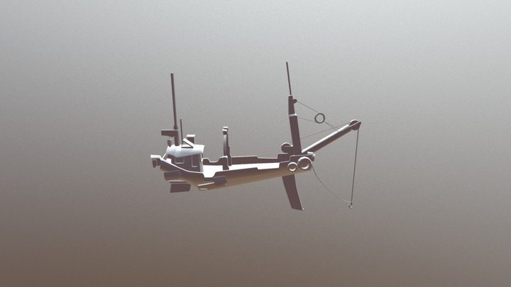 Barquito 3D Model