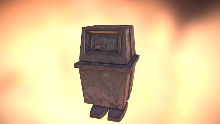 Gonk Droid 3D Model