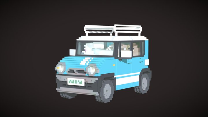 Suzuki Hustlers 3D Model