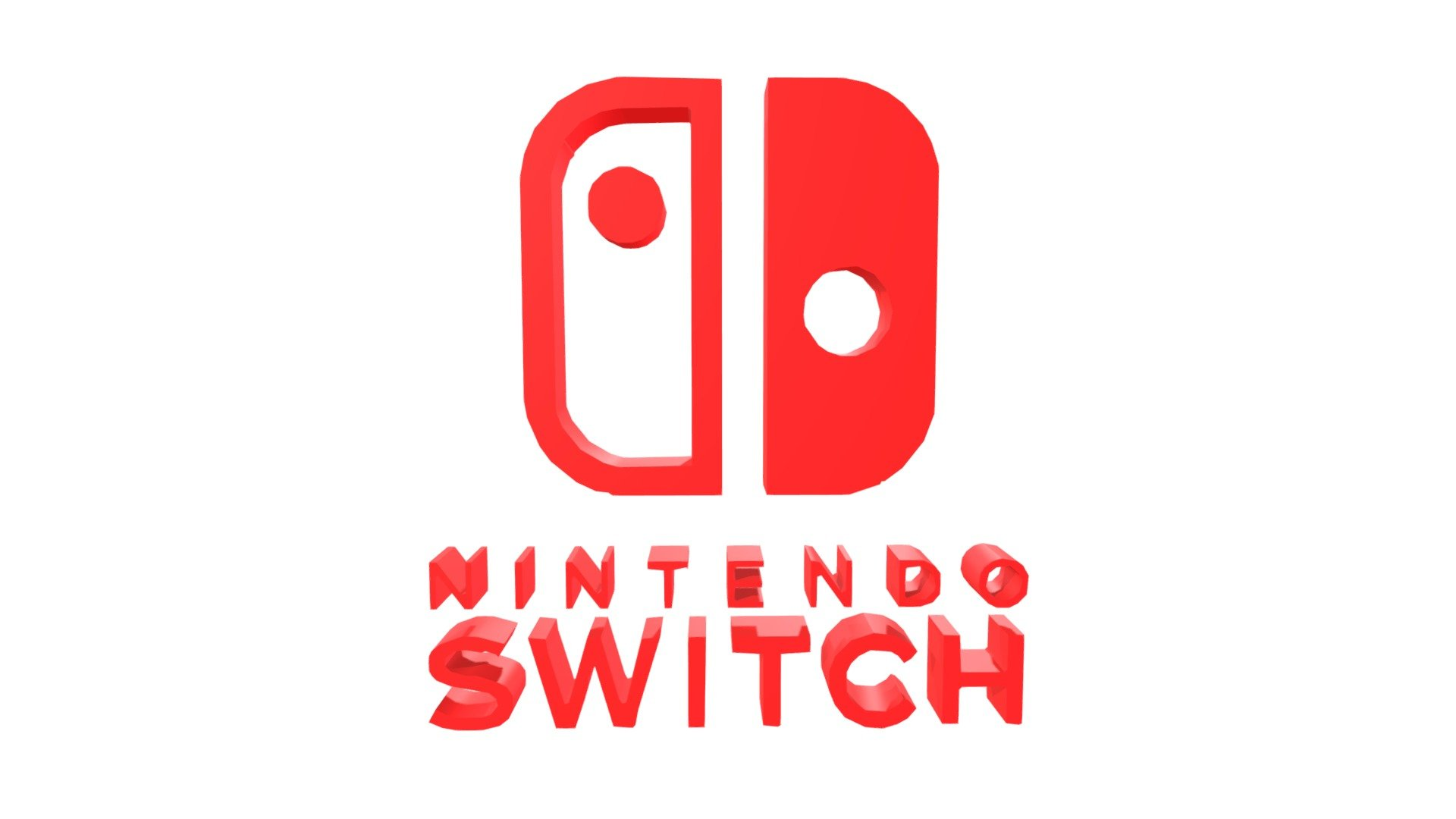 Nintendo Switch Logo 3d Model By Carapapa Carapapa 6eef063 Sketchfab