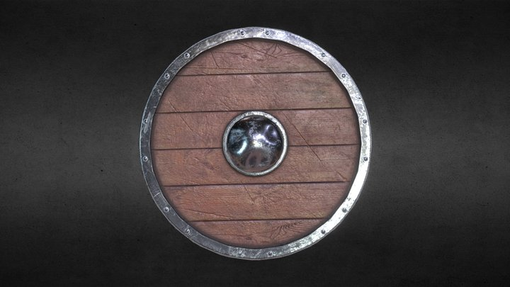 [For Honor] Warlord Shield [Download Game-ready] 3D Model