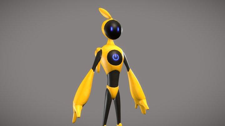 Robo AP-X1 3D Model