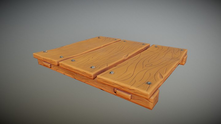 Floor for Unamed game project 3D Model