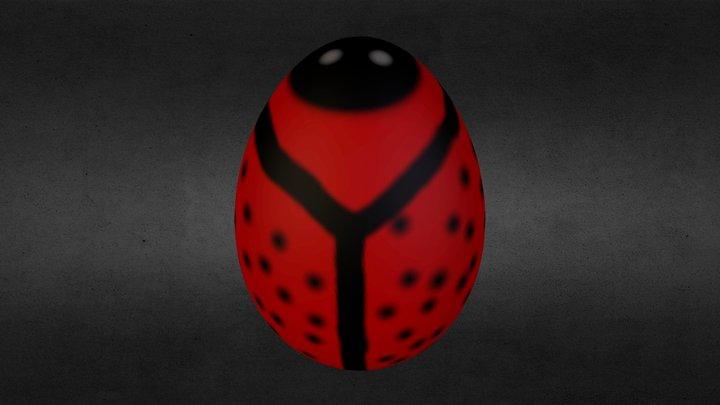 Ladybug EasterEgg 3D Model