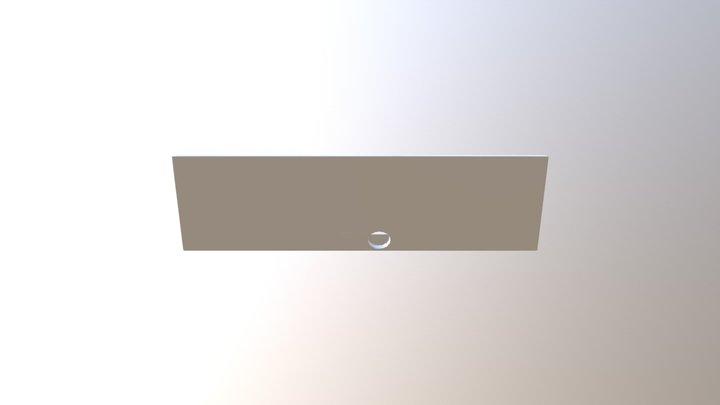 Small Panel Front for Star Trek Tricorder 3D Model