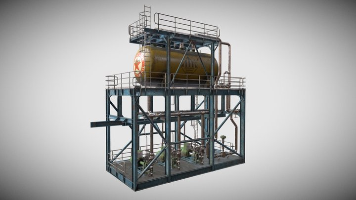 Industrial System 3D Model