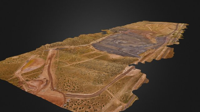 Large Site Survey 3D Model