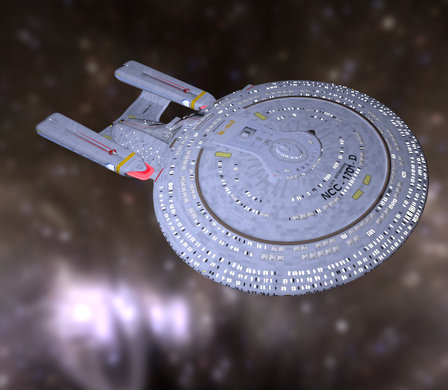 Enterprise NCC 1701 D 3D Model