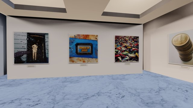 Instamuseum for @fgurtner 3D Model