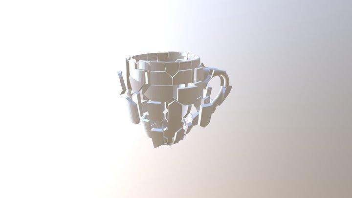 Broken Mug 3D Model
