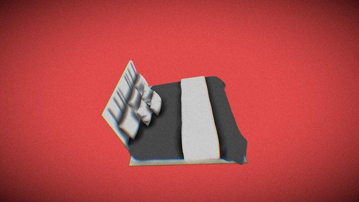 Bed 00001 3D Model