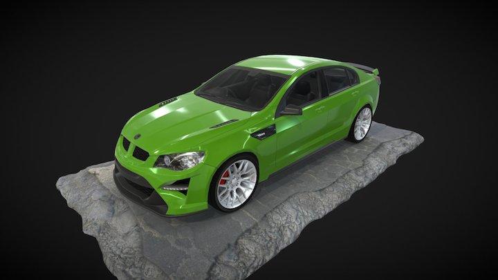Model 03 3D Model