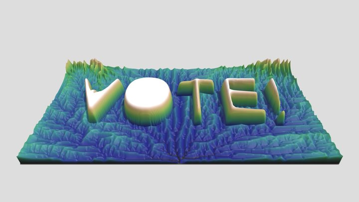 Vote! 3D Model