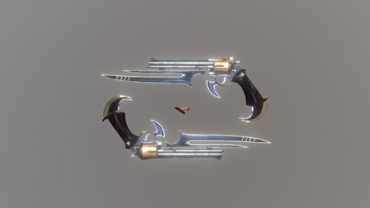 Werewolf Gun 3D Model