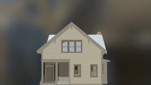 Southern Red Oak 3D Model