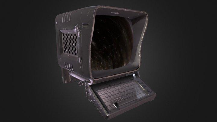 Fallout Terminal 3D Model