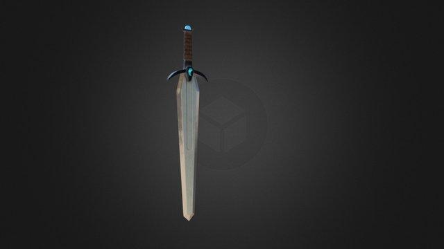 Balanced Sword 3D Model