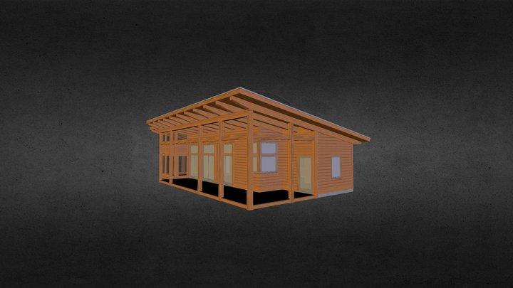 Nicholas Cabin 3D Model