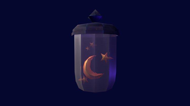 Stars in a Jar 3D Model